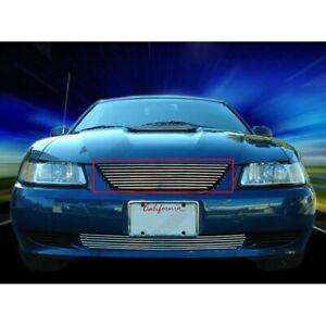 99-04 FORD MUSTANG BILLET GRILLE GRILL V6 V8 GT Upper 01 02 03 2001 2002 2003