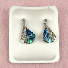 Paua Jewelry - Pd Plated Stud Earrings (PE100)