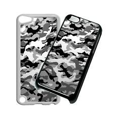 Camo Grey Phone Case Cover for iPhone 4 5 6 7 8 X iPod 6th Gen Samsung S6 S7 S8