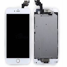 For iPhone 6 PLUS White LCD Touch Screen With Camera+Home Button Replacement