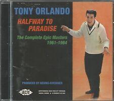 TONY ORLANDO - CD - Halfway To Paradise - BRAND NEW