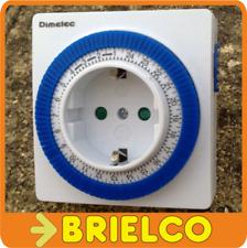 TEMPORIZADOR PROGRAMADOR ELECTROMECANICO DIARIO 24H SALTO 15 MINUTOS 220V BD6579