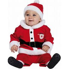 Baby Nikolaus Kostüm / Kinder Weihnachtsmann Jacke Hose und Mütze Größe 80-86