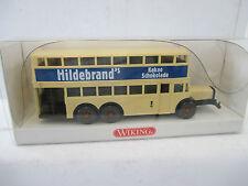 Wiking 1/87 873 03 27 Berliner Doppeldeckerbus D 38  WS4027