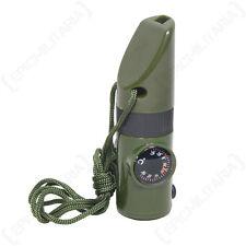 2Stk Signalpfeife Tactical Molle Triller Pfiff Notfall Rettung BW Militaria NEU