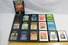 Lot of 16-Atari 2600 Game Cartridges-Pac-Man/Defender/Asteroids/Combat-ID#0502