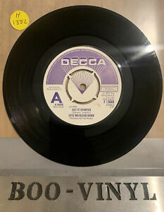 DEMO - OTIS WAYGOOD BAND-GET IT STARTED / RED HOT PASSION-DECCA F 13688 EX+ Con