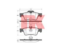 Bremsbelagsatz Scheibenbremse - NK 223353