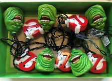 Ghostbusters 10' String Lights Never Hung/Used Slimer and Gb Logo