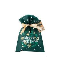 """6er Set Geschenkbeutel """"Merry Christmas S"""" Weihnachten Geschenksack Nikolaus"""