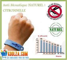 BRACELET ANTI  MOUSTIQUES naturel longue durée répulsif mosquito