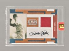 PETE ROSE 2010 PANINI CENTURY COLLECTION JERSEY AUTOGRAPH AUTO /50