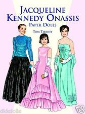 Jacqueline Kennedy Onassis Paper Doll Booklet, Tierney, Dover Publ., 1999
