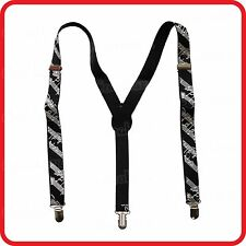 Braces / Suspenders-5-Line Musical Notation Staff Stave Piano-Swing Dance-Jazz