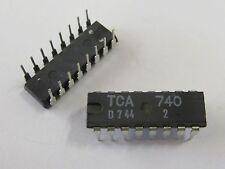 2 Stück - TCA740 PHILIPS DIP16 - Höhen/Tiefen Einstellschaltung , Klangregler 2x