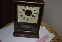 Antique Mantel &  Alarm Clock  Maybe American E PLURIBUSUNUM