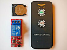 Switch Relay infrared IR Wireless Module with Remote Control UK SELLER