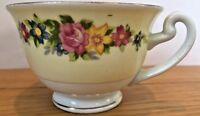 Empress China Tea Cup Hand Painted Japan Floral Gold Trim