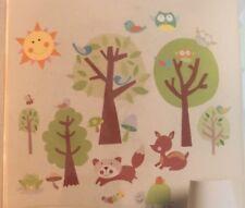 PEEL & STICK Wallies Baby Wall Decor Vinyl Decals Decor 13053 Animal Tales New