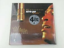 MARVIN GAYE - THE MASTER 1961-1984 - BOX 4 CD + BOOK - 2006 EAR BOOKS - NEW!-L09