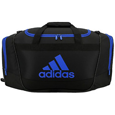Adidas Duffel Bag Medium Black/Blue Defender II Medium Gym Sport Men Woman Gift
