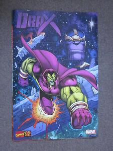 Marvel Comics Drax The Destroyer Thanos Marvel Comics Superhero Poster 36x24