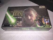 Star Wars Young Jedi Card Game Battle Of Naboo 36-count Booster Box Sealed