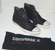NWOB Authentic CONVERSE JOHN VARVATOS MINI STUD Hi Leather Shoes Size 11 M