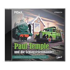 Francis Durbridge - Paul Temple und die Schlagzeilenmänner * CD Hörbuch Pidax