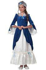 Brand New Colonial Era Dress/Martha Washington Child Costume