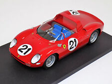 1/18 Ferrari 250 P 1963 24 hour of Le Mans Winner car #21 Scarfiotti Bandini f8