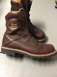 Nice Size 14 EEE Chippewa Waterproof Thinsulate Leather Mens Boots Vibram Soles