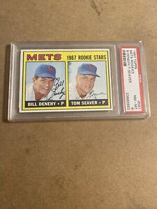 1967 Topps Tom Seaver Mets Rookie #581 PSA  8 Near Mint- Mint  MY CROWN JEWEL