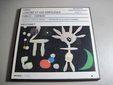 Ravel- L'Enfant Et Les Sortileges-Ansermet- LP 1968 Richmond R 23086 Mono NM