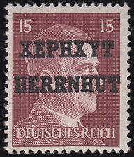 Lokalausgabe Herrnhut Mi.Nr. 8 ungebraucht Altsignatur Mi.Wert 280€ für **(7252)