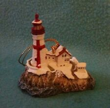 """East Quoddy """"Harbour Lights"""" Lighthouse 2000 Ornament - no box 2"""""""