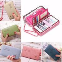 Fashion Women Leather Wallet Purse Handbag Long Clutch Box Phone Bag Card Holder
