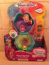 Shimmer and Shine 2018 TEENIE GENIES Flower Sprites On the Go Playset