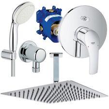 Unterputz Duschsystem, Kopfbrause 300 x 300 mm, Grohe Eurosmart + Rapido UP Set