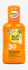 Sun Dance Transparentes Sonnenspray LSF 30 Hoch - UVA + UVB-Schutz - 1 x 200 mL