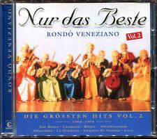 RONDO VENEZIANO - NUR DAS BESTE VOL.2 - BEST OF CD ALBUM