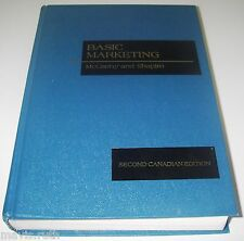 TEXTBOOK Basic Marketing Second Canadian Edition by McCarthy Business Education