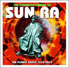 Sun Ra FUTURISTIC SOUNDS OF / SUPER SONIC JAZZ 2 Original Albums NEW SEALED 2 CD