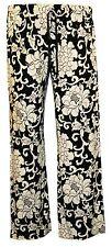 New Womens Ladies Plus size Leopard Print Stretch Palazzo Trousers Pants 12- 26