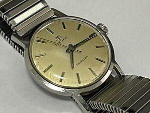 Vintage Armbanduhr Tissot Seastar in Edelstahl  Handaufzug - Cal. 781 - 1961