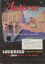 Autocar magazine 9/7/1954 featuring Fiat 8V road test