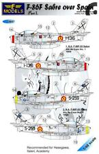 LF Models Decals 1/48 NORTH AMERICAN F-86F SABRE OVER SPAIN Part 1