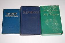 Lot of 3 Jehovah Witness - New World Translation / Deliverance / Truth Eternal