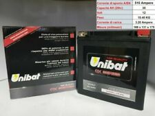 Baterías Unibat para motos BMW