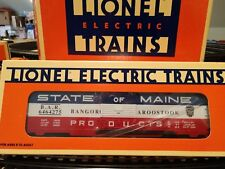 LIONEL 6464 BOXCAR RE-ISSUE SET 4 BREAKUP 6-19273 (6464-275) State of Maine NIB